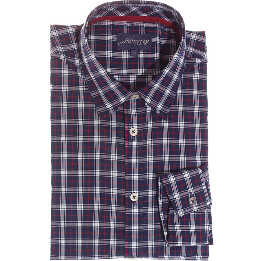 Kentfield Navy Plaid