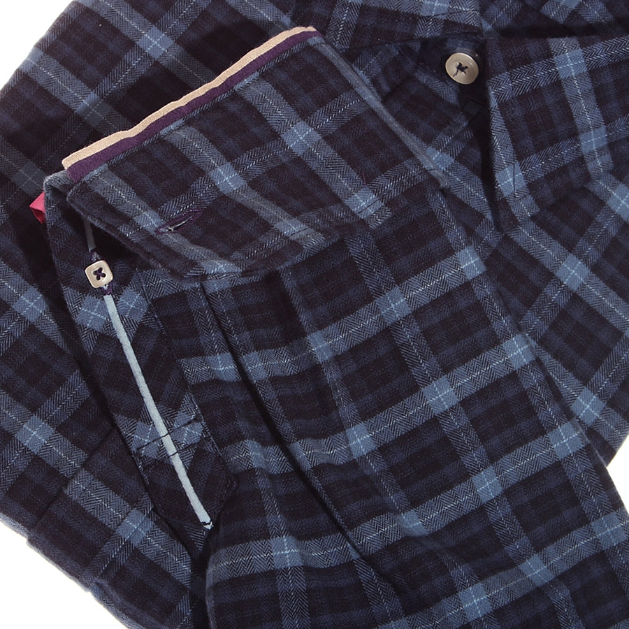Hampstead Navy Plaid