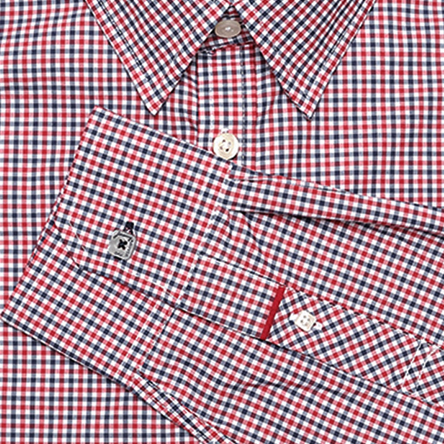 Irving Red Check
