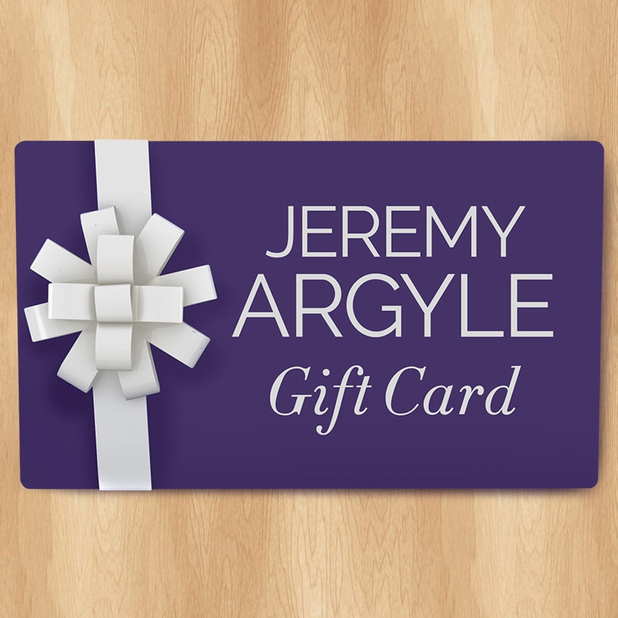 Jeremy Argyle Digital Gift Card