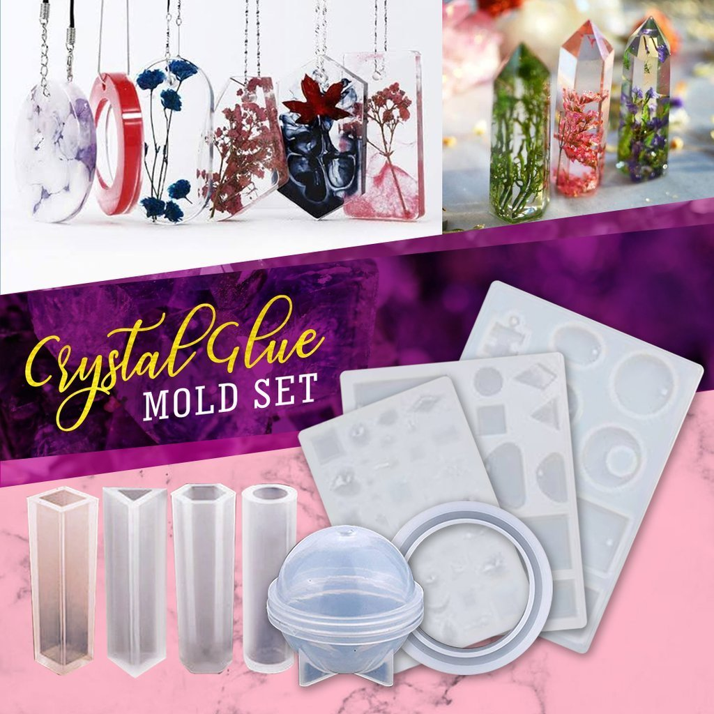 Copy of Crystal Jewelry Mold Set 229Pcs