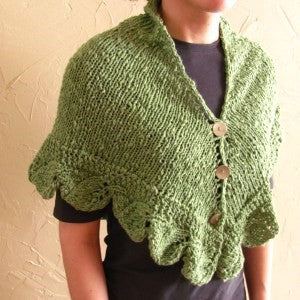 Turning Leaves Shawl/Poncho