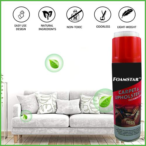 Carpet & Upholstery Foam Cleaner