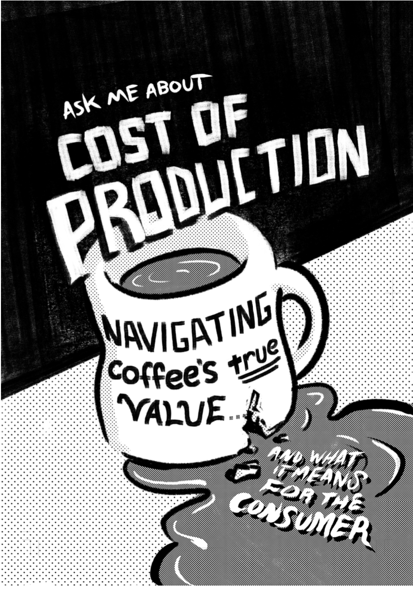 Cost of Production Comic Page 1