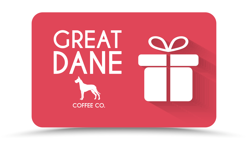 Great Dane Coffee Company Gift Card