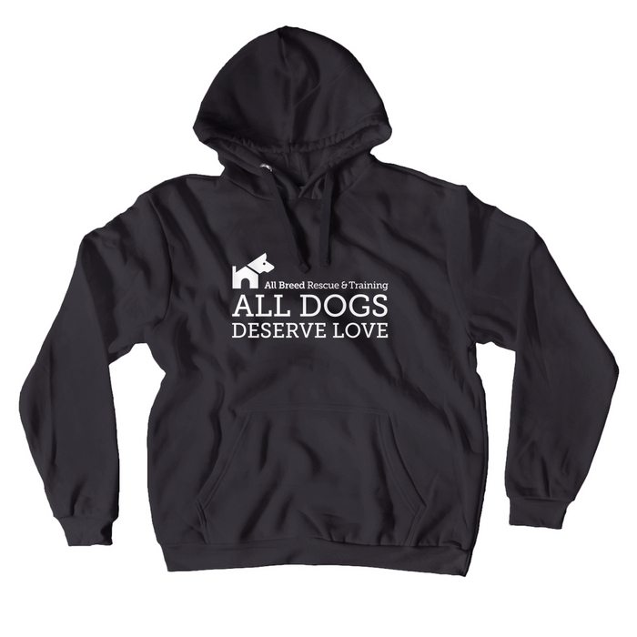 ABRT All Dogs Deserve Love Hoodie (No-Zip/Pullover)