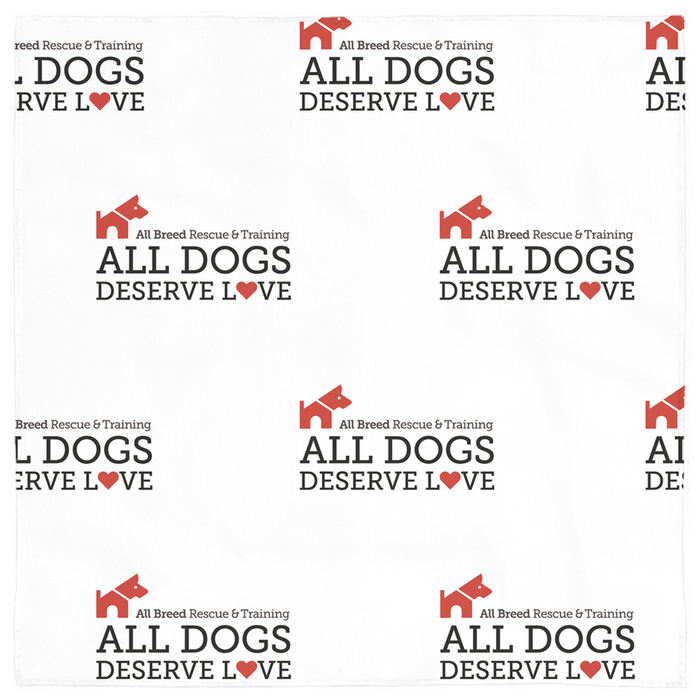 "ABRT ""All Dogs Deserve Love"" — Pet Bandana"