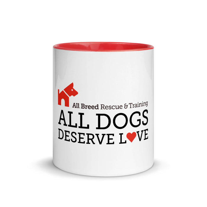 "ABRT ""All Dogs Deserve Love"" — Mug"