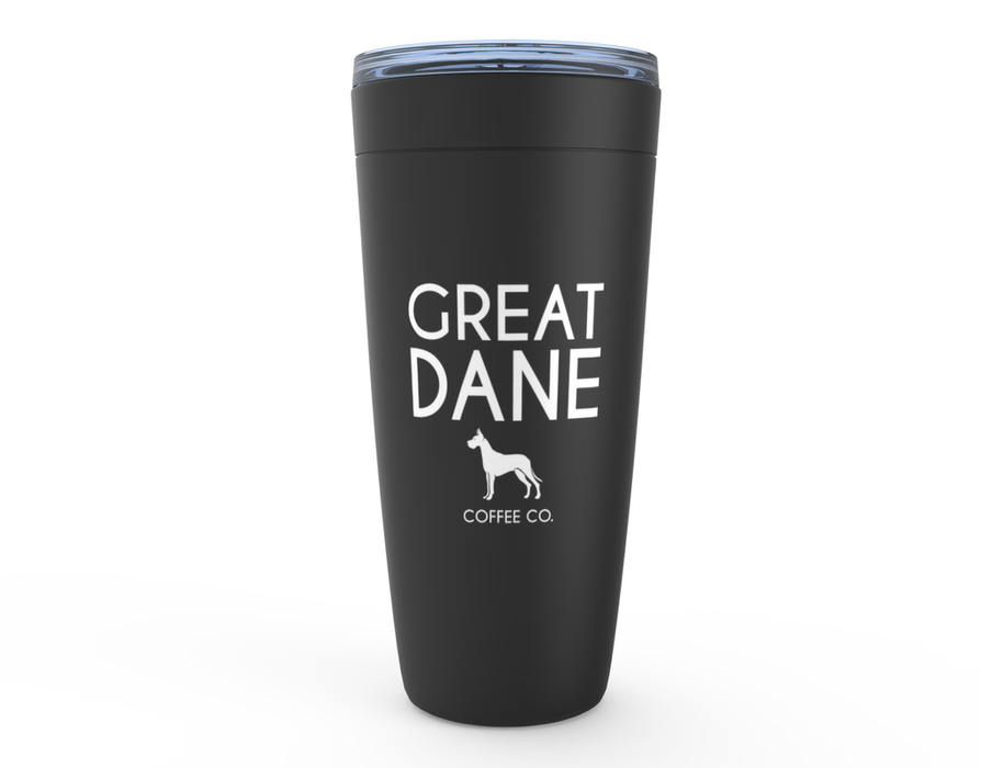 Great Dane Coffee Company Tumbler — Black