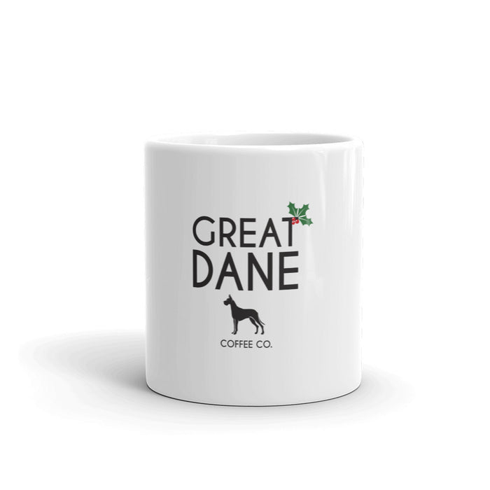 Great Dane Coffee Company Signature Holiday Mug