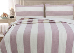 Josie Taro Cotton Reversible Quilt Set