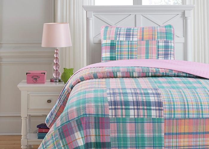 Raelyn Patchwork Cotton Quilt Set