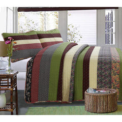 Sandpiper Cove Cotton 3-Piece Quilt Set
