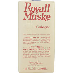 ROYALL MUSKE by Royall Fragrances AFTERSHAVE LOTION COLOGNE 8 OZ