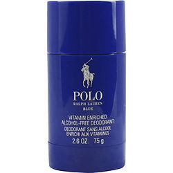 POLO BLUE by Ralph Lauren DEODORANT STICK ALCOHOL FREE 2.6 OZ