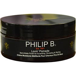 PHILIP B by Philip B LOVIN' POMADE SEMI-MATTE FINISH FOR ACCENTING, SCULPTING & STYLING 2 OZ