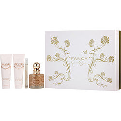 FANCY by Jessica Simpson EAU DE PARFUM SPRAY 3.4 OZ & BODY LOTION 3 OZ & SHOWER GEL 3 OZ & EAU DE PARFUM SPRAY .34 OZ MINI