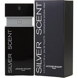 SILVER SCENT by Jacques Bogart EDT SPRAY 3.3 OZ