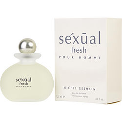 SEXUAL FRESH by Michel Germain EDT SPRAY 4.2 OZ