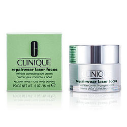 CLINIQUE by Clinique Repairwear Laser Focus Wrinkle Correcting Eye Cream --15ml/0.5oz