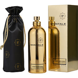 MONTALE PARIS AOUD QUEEN ROSES by Montale EAU DE PARFUM SPRAY 3.4 OZ