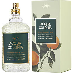 4711 ACQUA COLONIA by 4711 BLOOD ORANGE & BASIL EAU DE COLOGNE SPRAY 5.7 OZ