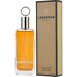 LAGERFELD by Karl Lagerfeld EDT SPRAY 3.3 OZ