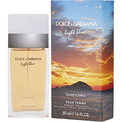 D & G LIGHT BLUE SUNSET IN SALINA by Dolce & Gabbana EDT SPRAY 1.6 OZ (LIMITED EDITION)