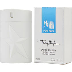ANGEL MEN PURE SHOT by Thierry Mugler EDT SPRAY .07 OZ MINI (LIMITED EDITION)