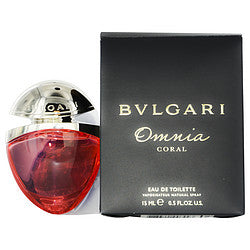 BVLGARI OMNIA CORAL by Bvlgari EDT SPRAY .5 OZ