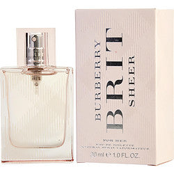 BURBERRY BRIT SHEER by Burberry EDT SPRAY 1 OZ (NEW PACKAGING)