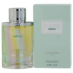 SUNRISE VETIVER by Franck Olivier EDT SPRAY 2.5 OZ