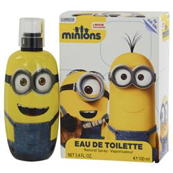 MINIONS by Illumination Entertainment KEVIN EDT SPRAY 3.4 OZ