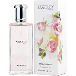 YARDLEY by Yardley ENGLISH ROSE EDT SPRAY 4.2 OZ (NEW PACKAGING)