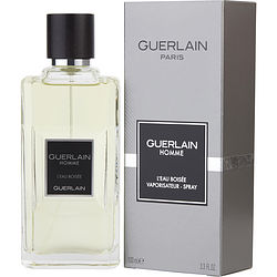 GUERLAIN HOMME L'EAU BOISEE by Guerlain EDT SPRAY 3.3 OZ