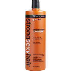 SEXY HAIR by Sexy Hair Concepts STRONG SEXY HAIR SULFATE FREE STRENGTHENING CONDITIONER 33.8 OZ