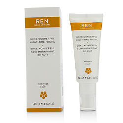 Ren by Ren Wake Wonderful Night-Time Facial --40ml/1.3oz