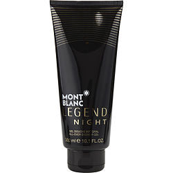 MONT BLANC LEGEND NIGHT by Mont Blanc ALL OVER SHOWER GEL 10.1 OZ