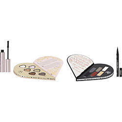 Too Faced by Too Faced TOO FACED X KAT VON D BETTER TOGETHER ULTIMATE EYE COLLECTION (12X EYE SHADOWS, 1X KAT VON D TATTOO LINER PEN, 1X TOO FACED BETTER THAN LOVE MASCARA)