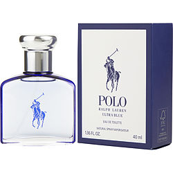 POLO ULTRA BLUE by Ralph Lauren EDT SPRAY 1.3 OZ