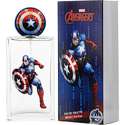 CAPTAIN AMERICA by Marvel EDT SPRAY 3.4 OZ (NEW PACKAGING)