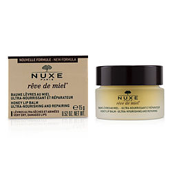 Nuxe by Nuxe Reve De Miel Ultra-Nourishing & Repairing Honey Lip Balm - For Very Dry, Damaged Lips  --15ml/0.52oz