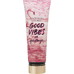VICTORIA'S SECRET by Victoria's Secret GOOD VIBES OR GOOD BYE BODY LOTION 8 OZ