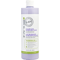 BIOLAGE by Matrix RAW COLOR CARE ACIDIC MILK RINSE 16.9 OZ