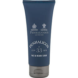 PENHALIGON'S NO. 33 by Penhaligon's FACE AND BEARD SCRUB 3.4 OZ