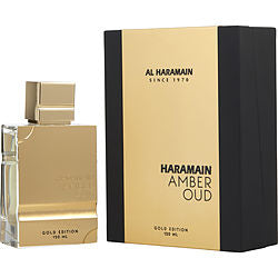 AL HARAMAIN AMBER OUD by Al Haramain EAU DE PARFUM SPRAY 4 OZ (GOLD EDITION)