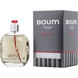 BOUM METAL by Jeanne Arthes EDT SPRAY 3.3 OZ