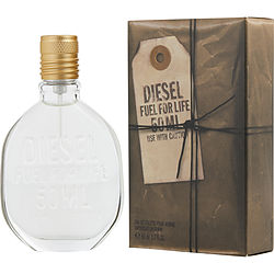 DIESEL FUEL FOR LIFE by Diesel EDT SPRAY 1.7 OZ (CUSTOMIZABLE BOTTLE EDITION)