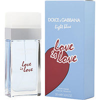 D & G LIGHT BLUE LOVE IS LOVE by Dolce & Gabbana EDT SPRAY 1.7 OZ