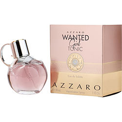 AZZARO WANTED GIRL TONIC by Azzaro EDT SPRAY 1 OZ